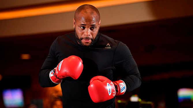 Daniel Cormier is tired of fans complaining about his title fight at UFC 230 against Derrick Lewis -