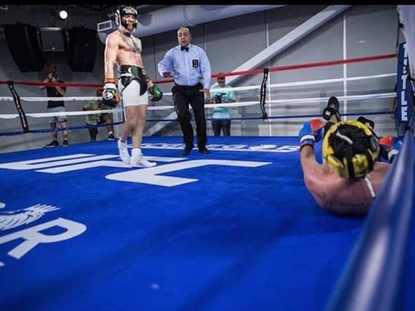 Paulie Malignaggi vs. Conor McGregor sparring video to be released on Netflix - Conor McGregor