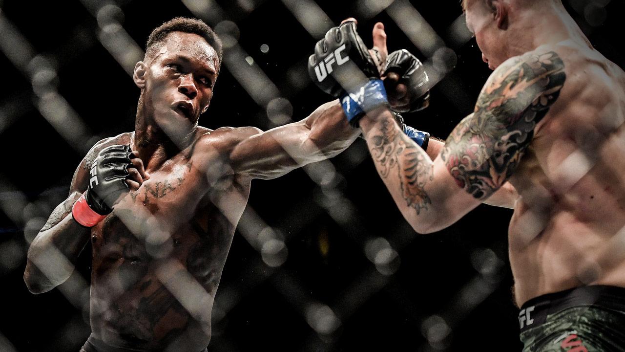Israel Adesanya with a chilling warning to Derek Brunson ahead of UFC 230 -