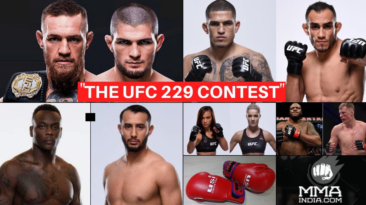 THE UFC 229 CONTEST -