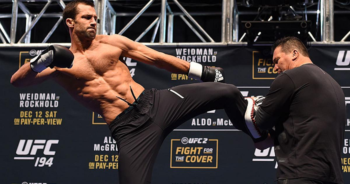 Luke Rockhold details multiple injuries - including a nasty one on the leg - that made him pull out of UFC 230 - Luke rockhold
