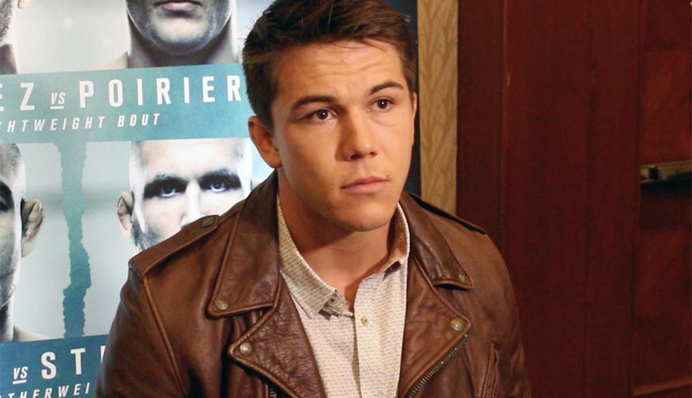 Upcoming star Alexander Hernandez wants Justin Gaethje next - Alexander