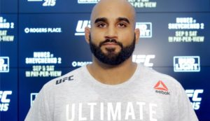 Grind over, time to shine! - Arjan Bhullar raring to go for UFC Moncton - Bhullar