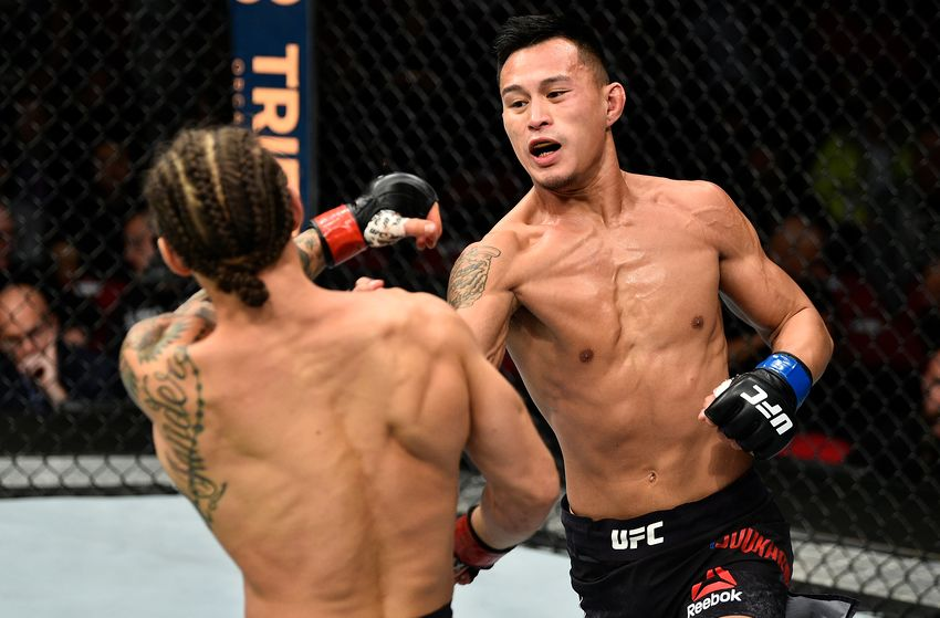 UFC Fight Night 138 Oezdemir vs. Smith Results: Andre Soukhamthath Wins With a Domination Performance -
