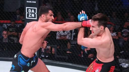 Twitter reacts to Gegard Mousasi's bloody TKO of Rory MacDonald at Bellator 206 - bellator