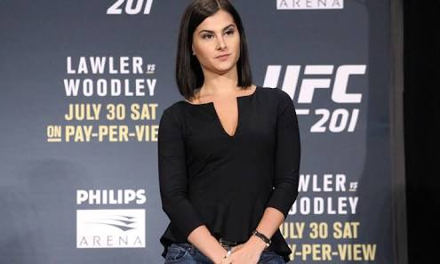 MMA: Megan Olivi to Ronda Rousey: I wouldn't be where I am without you - ronda