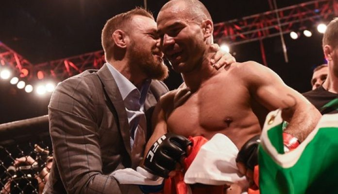 GOAT for a reason: Despite missing weight, Johnson getting back 20% of purse from Artem Lobov -