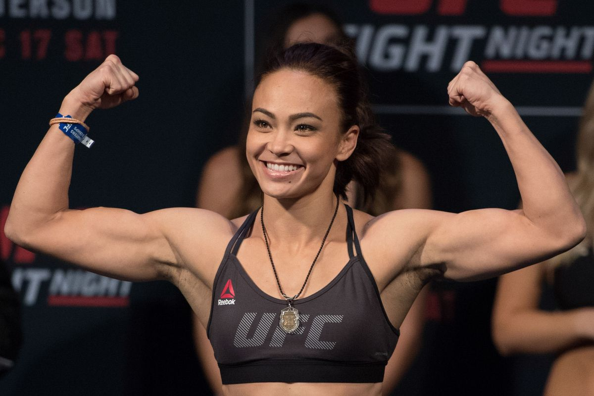 Michelle Waterson stays out of the beef between Cerrone and Coach Wink - Cerrone