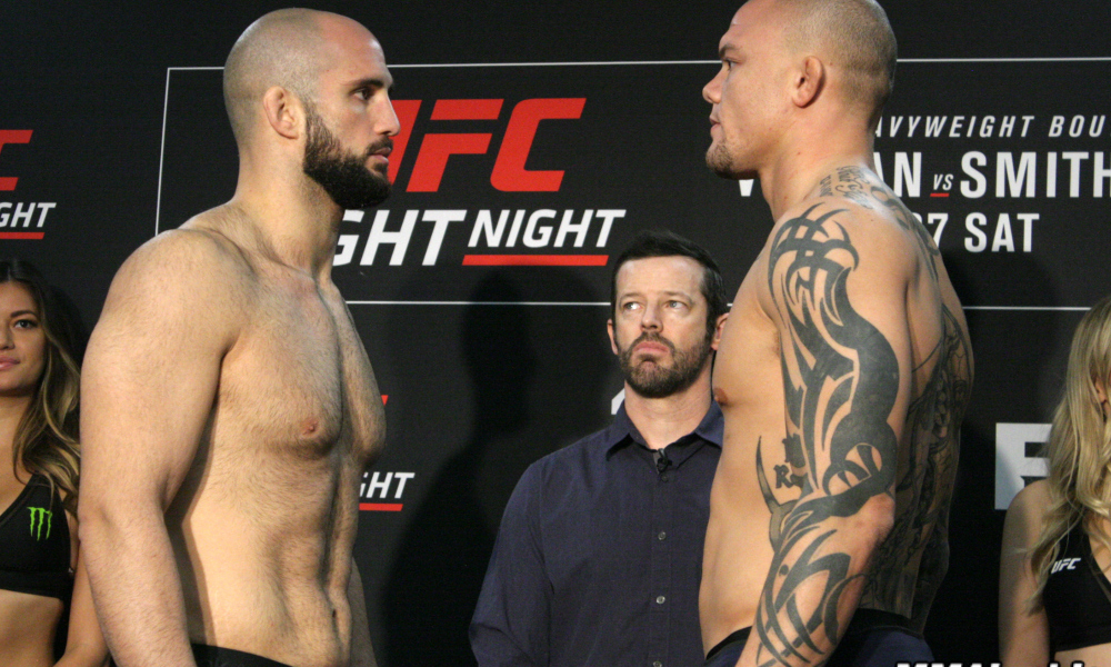 UFC Fight Night 138 Oezdemir vs. Smith - Play by Play Updates & Live Results -