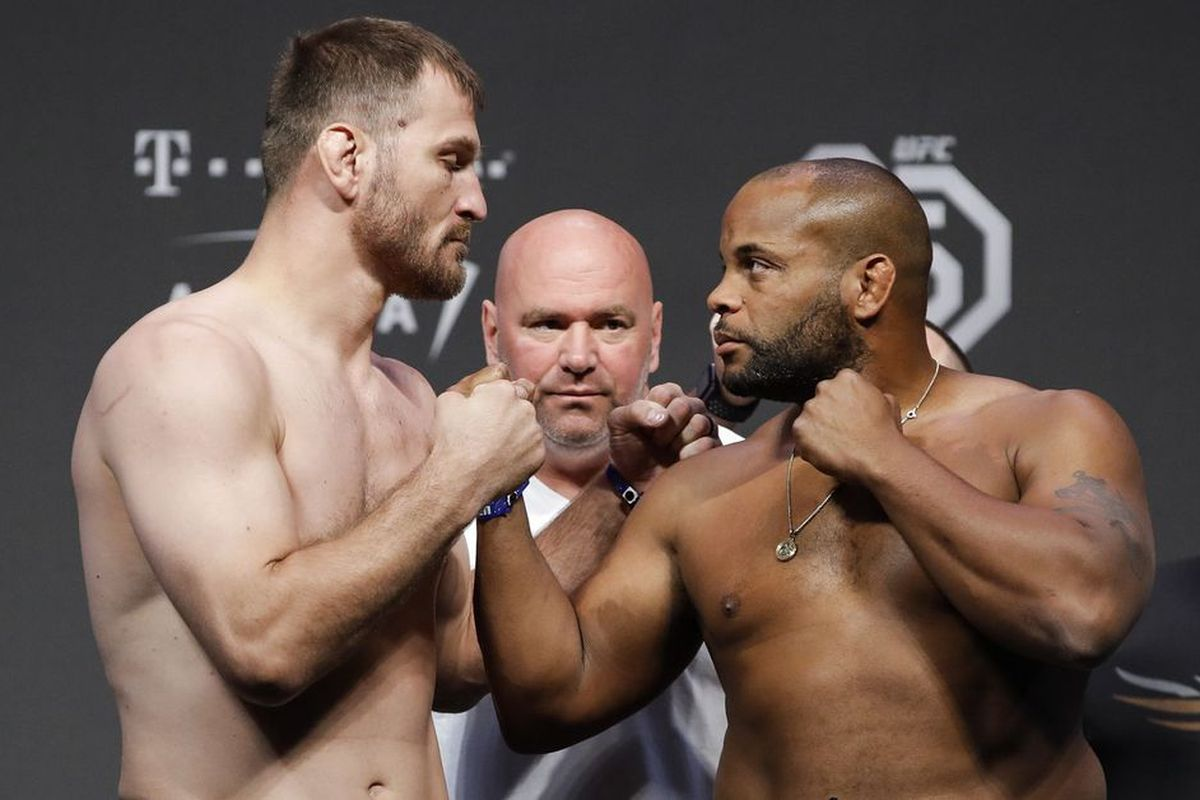 Stipe Miocic throws shade at Daniel Cormier for ducking the rematch - Stipe Miocic
