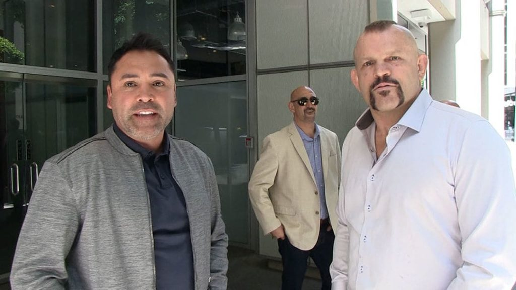 De La Hoya's advice to Dana White: 'Don't tell fighters to retire. It's in their blood' - White