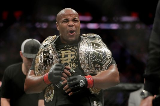 'Goldigger' Daniel Cormier posts a photo with all his UFC belts...can you guess how many he has? - Daniel Cormier