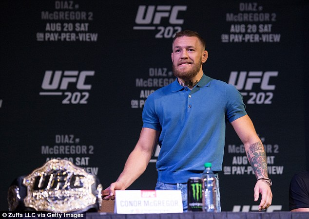 UFC: Conor McGregor finally settles with guard who was hit in Monster energy throwing incident involving Nate Diaz - Conor McGregor