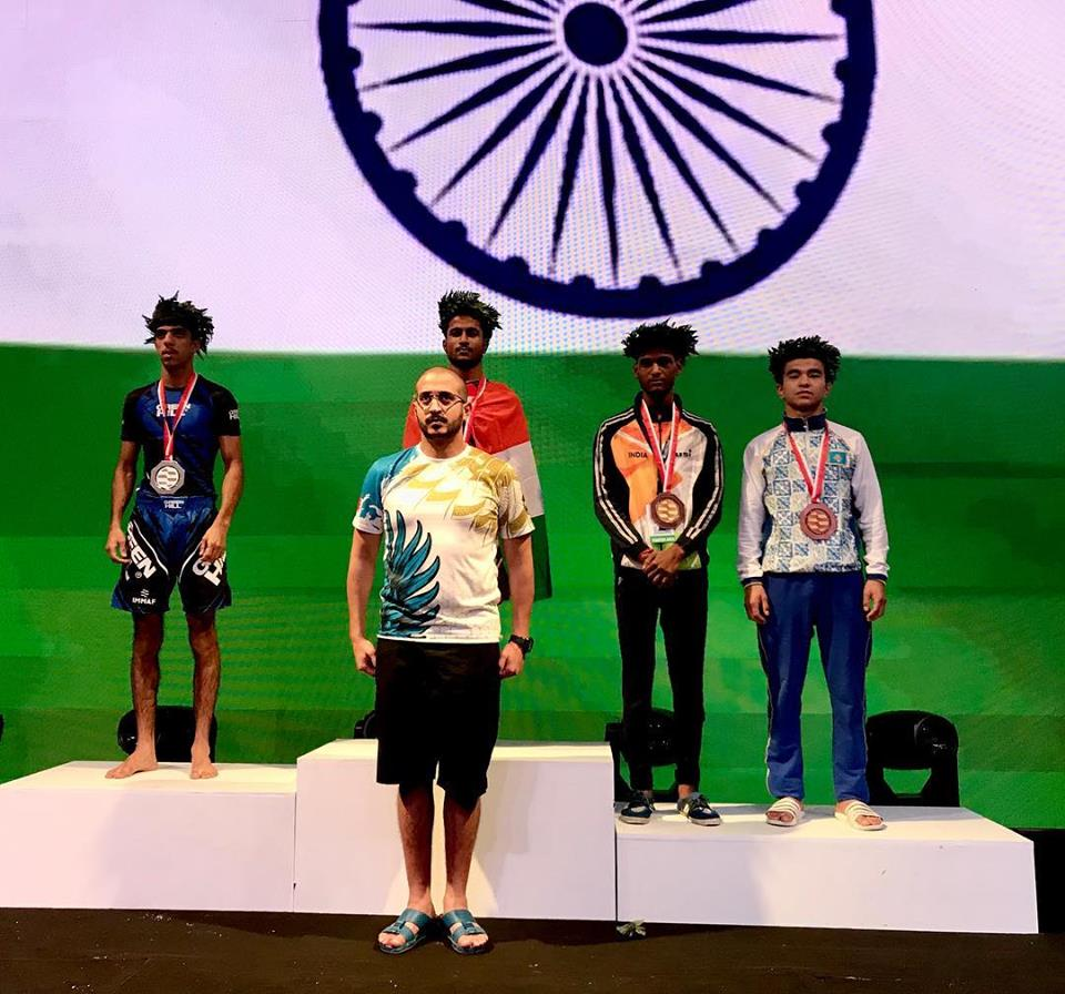 Mahboob Khan Mohammed wins India's first MMA Gold at 2018 IMMAF World Championship - 2018 IMMAF World Championship
