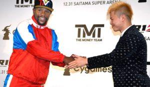 Floyd Mayweather to fight Japanese kickboxer Tenshin Nasukawa on Dec 31st in Rizin - Mayweather