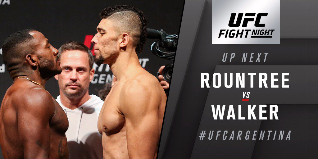 UFC Fight Night 140 Results - Johnny Walker Shuts Khalil's Lights Off in the First Round - Johny walker