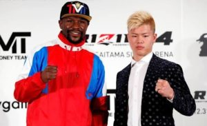 Tyron Woodley claims Floyd Mayweather was misled by Rizin FF - Woodley