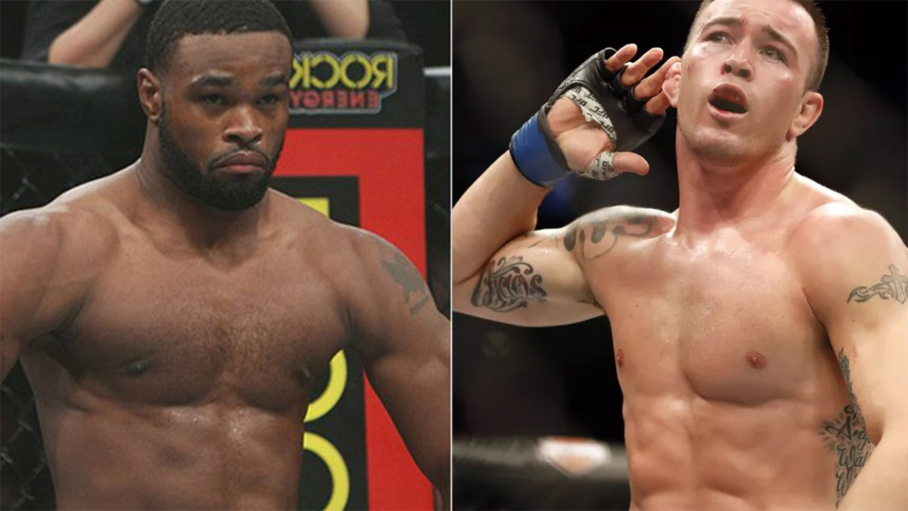 Woodley wants 10k for every takedown Colby attempts and Colby says he'll pay 10k for every punch Woodley throws - Woodley