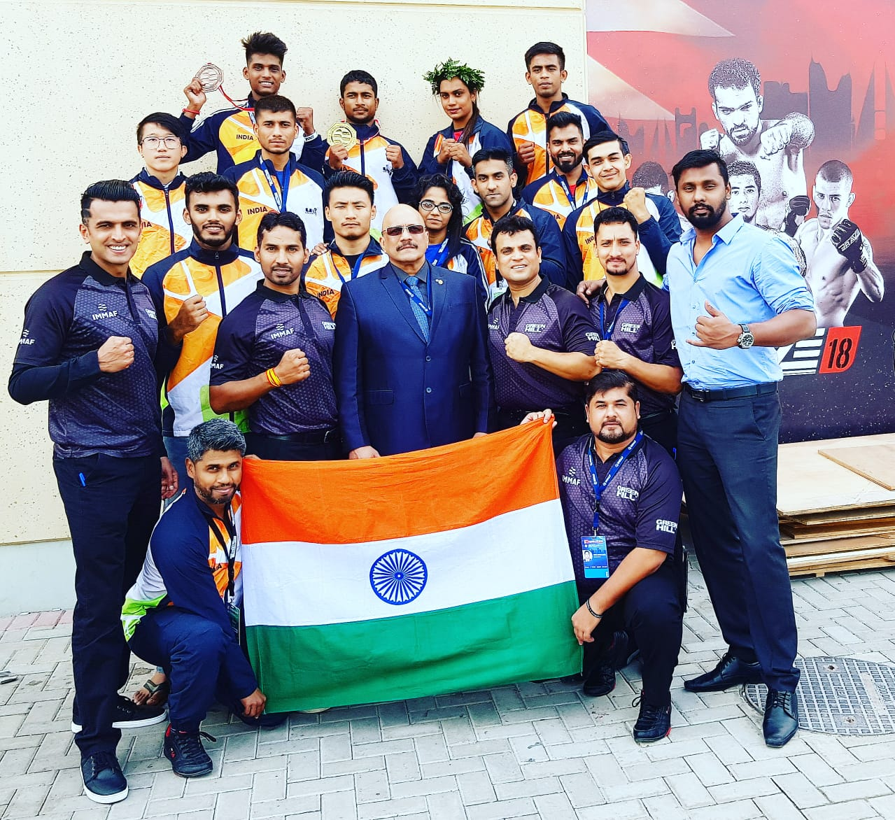 Mahboob Khan Mohammed wins India's first MMA Gold at 2018 IMMAF