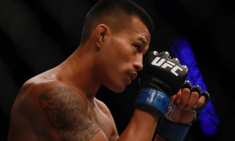 Andre Soukhamthath to his UFC Moncton opponent: 'You're supposed to be out, stay down!' - Soukhamthath