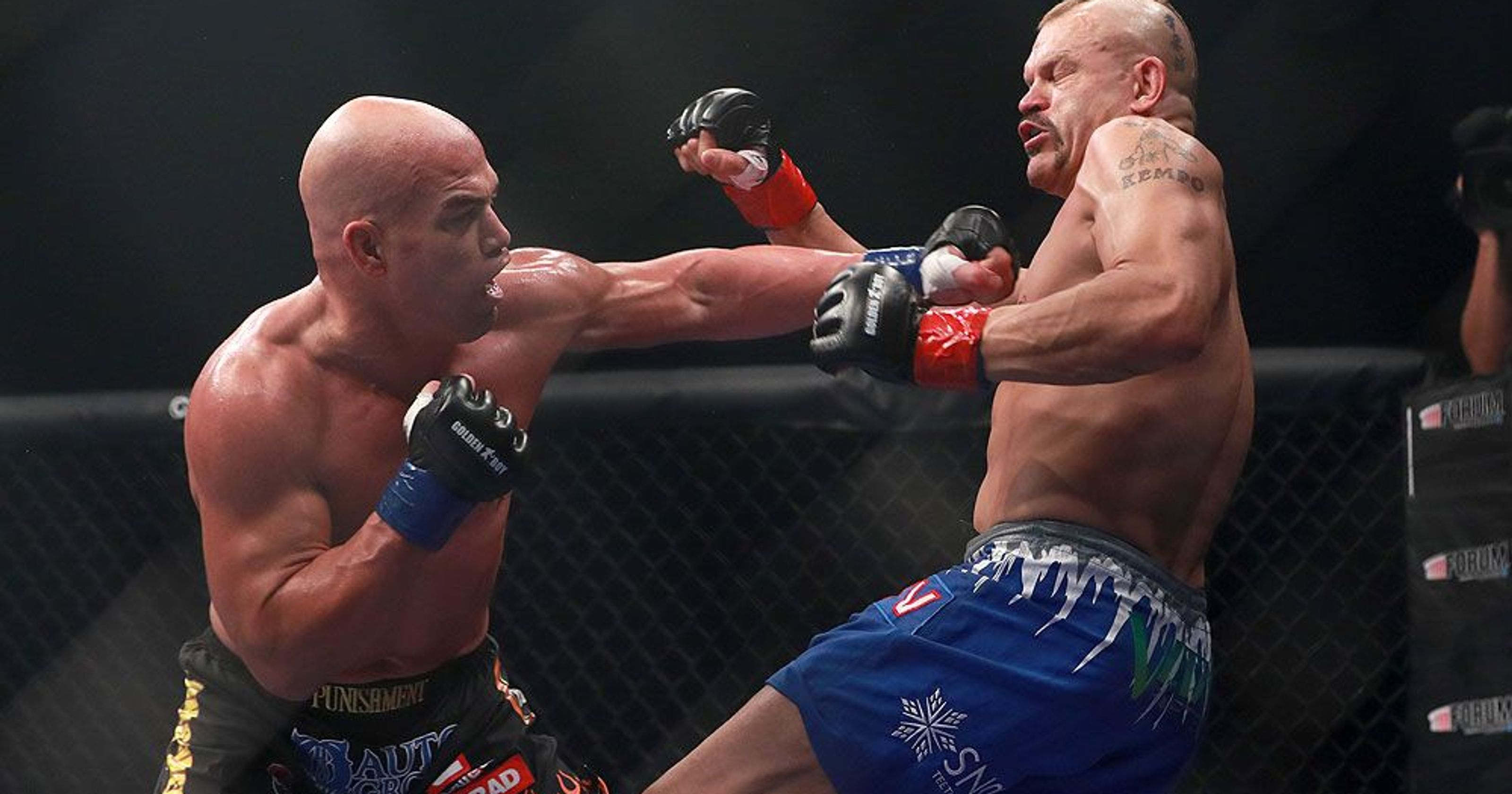 Tito Ortiz sends a message to Jon Jones after Liddell KO: I took care of your work for you! -