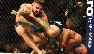 Twitter reacts to Cowboy Cerrone submitting Mike Perry in Round 1 - Cerrone
