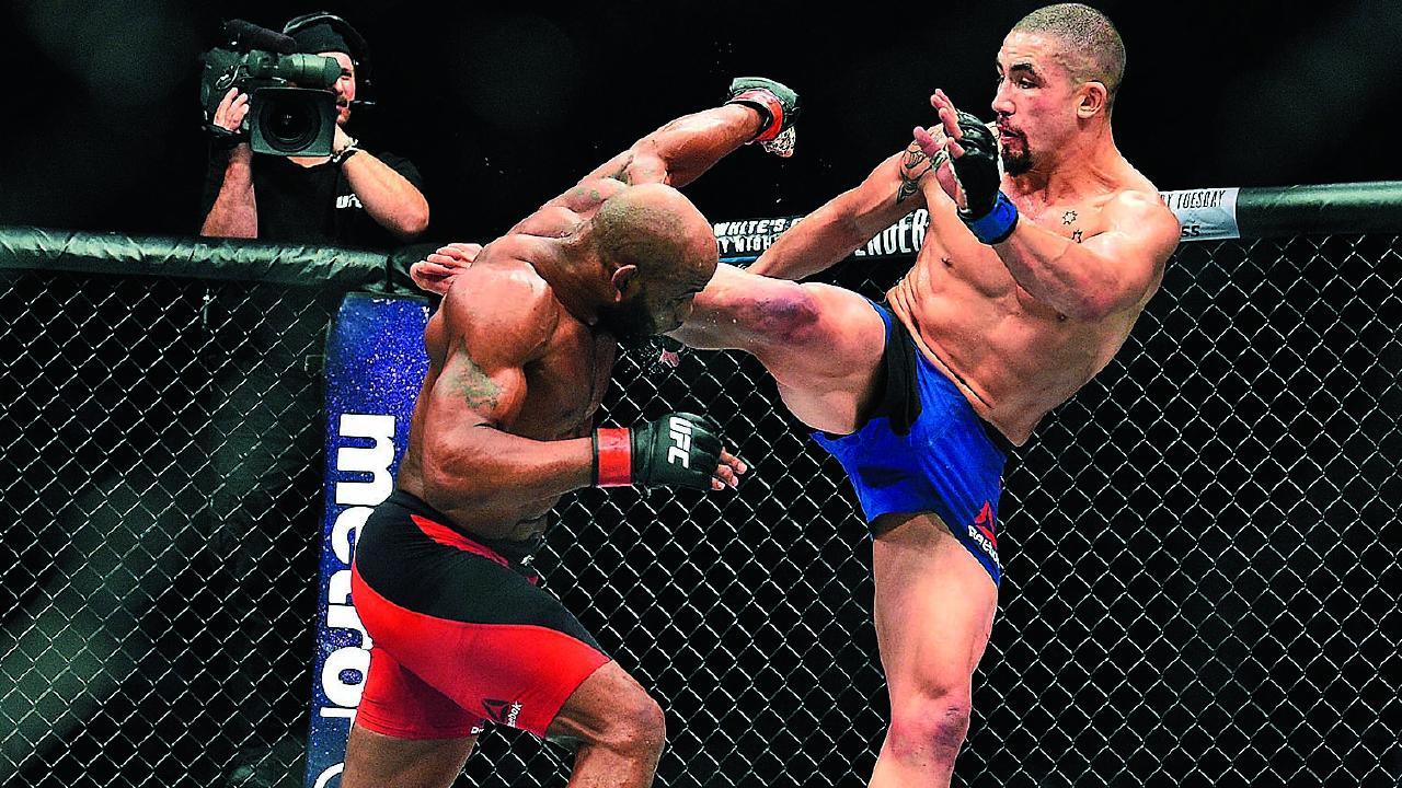 Robert Whittaker vs Kelvin Gastelum is official for UFC 234 -