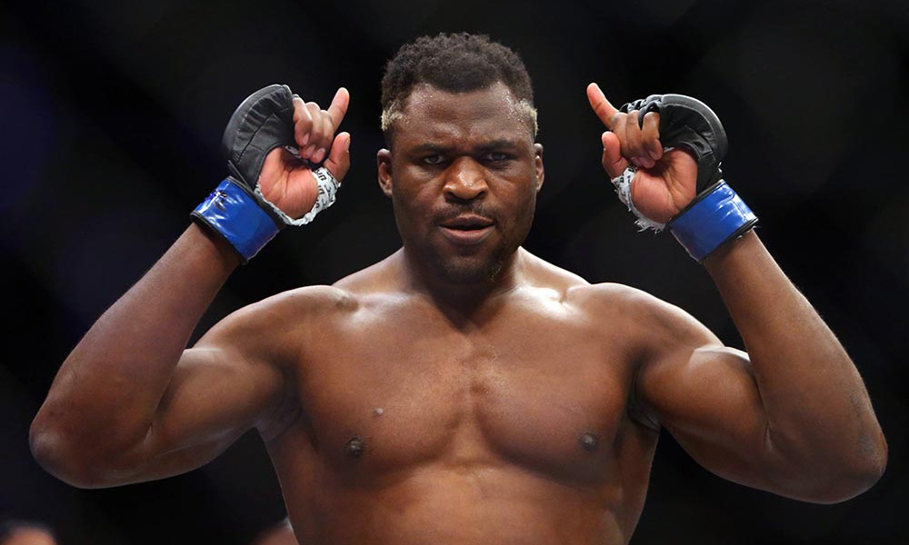 Francis Ngannou posts a message to his fans and haters after KO win over Blaydes - Francis Ngannou