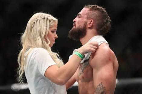 UFC: Mike Perry officially tells other girls to lay off; has reunited with the 'Platinum Princess' -