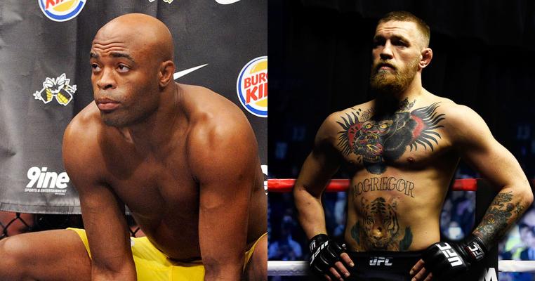 Anderson Silva thinks Conor McGregor is afraid to lose to him - Silva