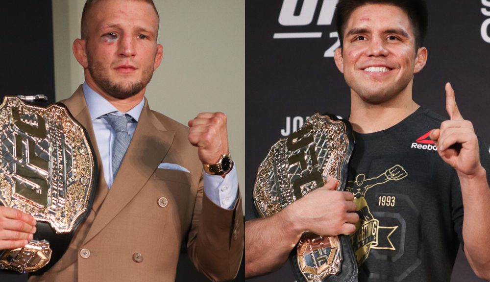 Despite TJ Dillashaw moving down a weight class, UFC 233 could host the last ever Flyweight fight - Dillashaw