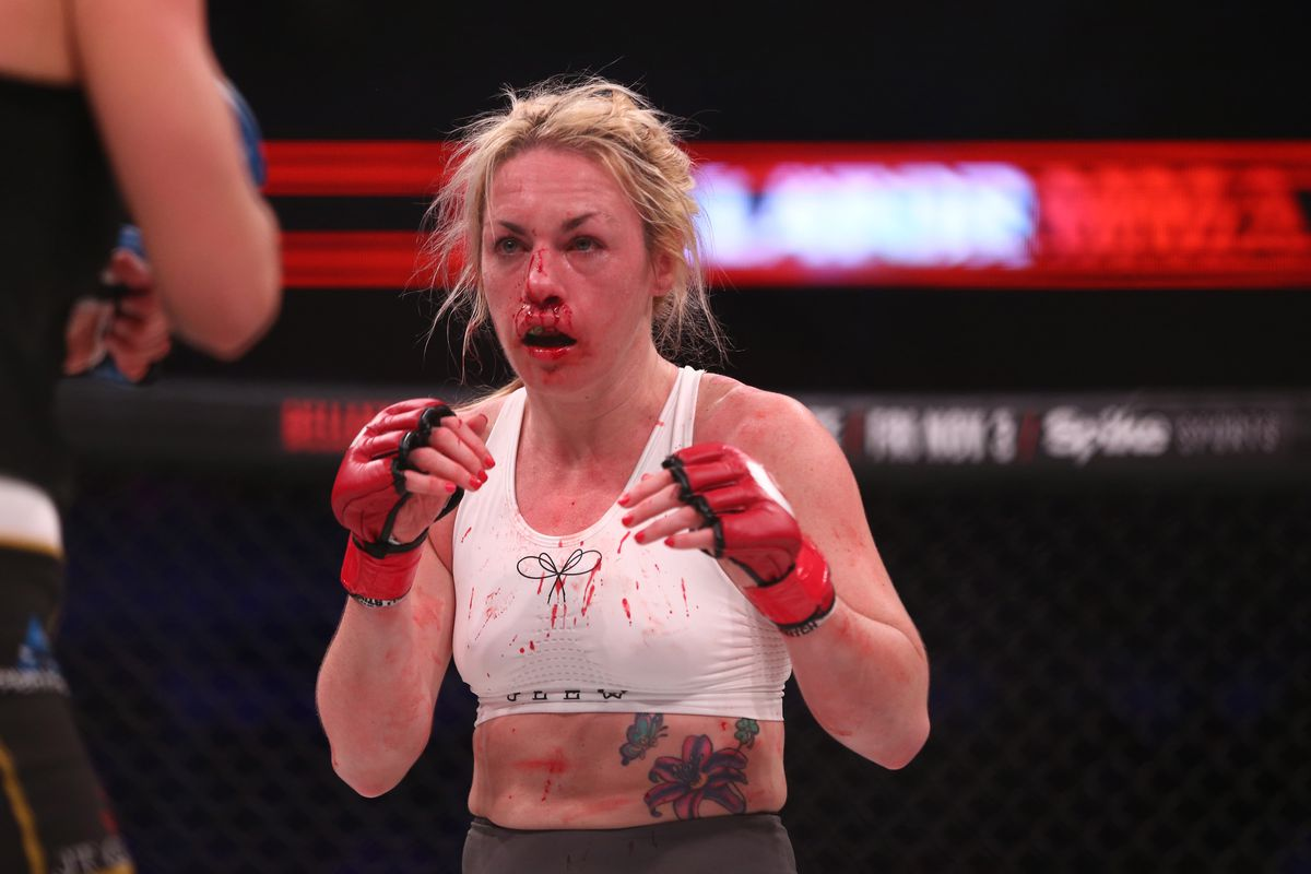 Bellator's Heather Hardy won't step inside the boxing ring unless it's for a world title - Heather