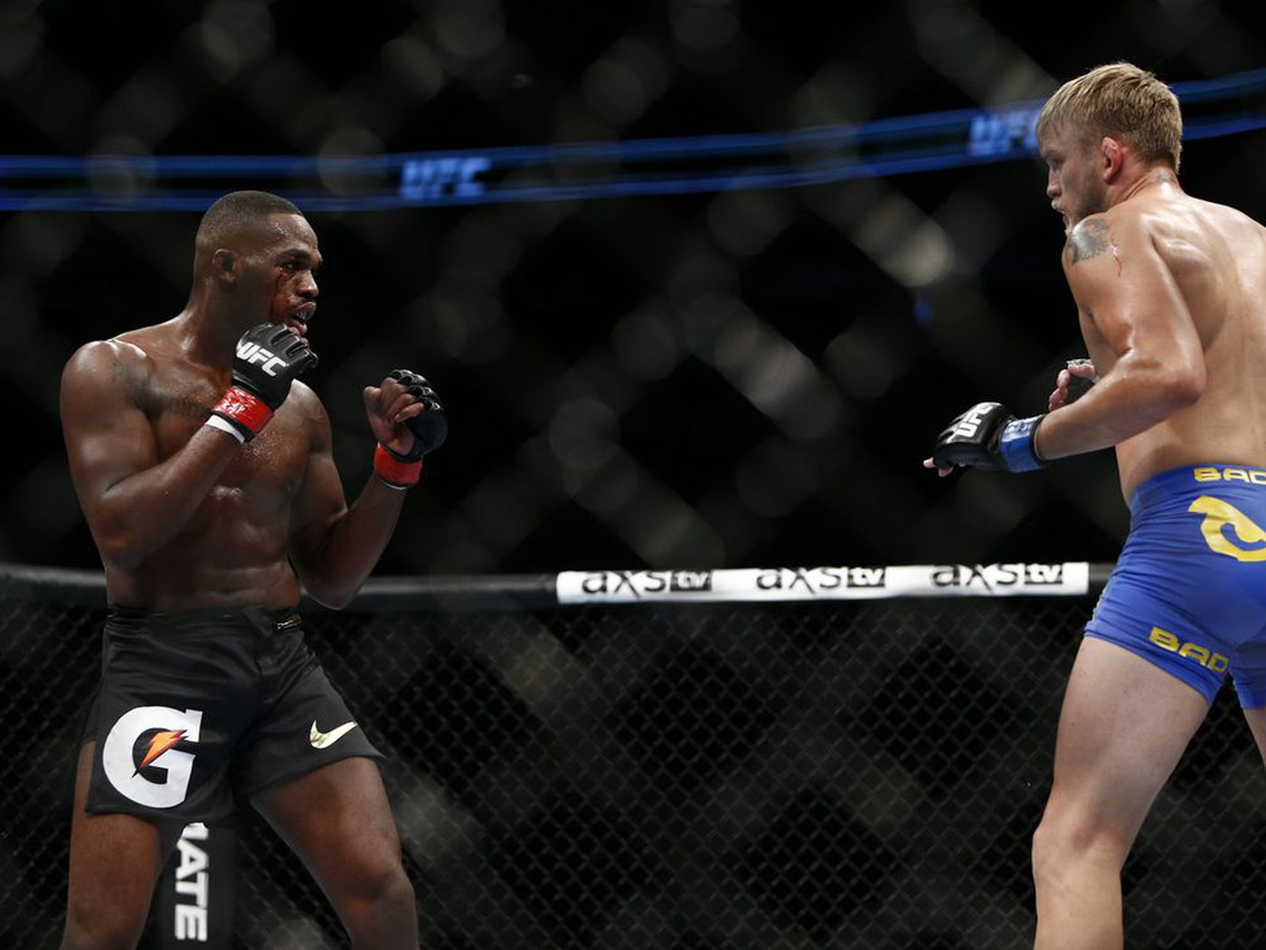 The UFC use the Avengers: Endgame teaser to promote Jones vs Gustafsson 2 and it's spine chilling! -
