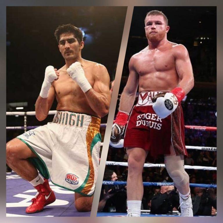 Vijender Singh wants to fight Canelo Alvarez in Madison Square Garden