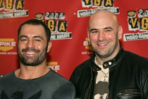 UFC President Dana White credits Joe Rogan with the promotion's meteoric rise - White