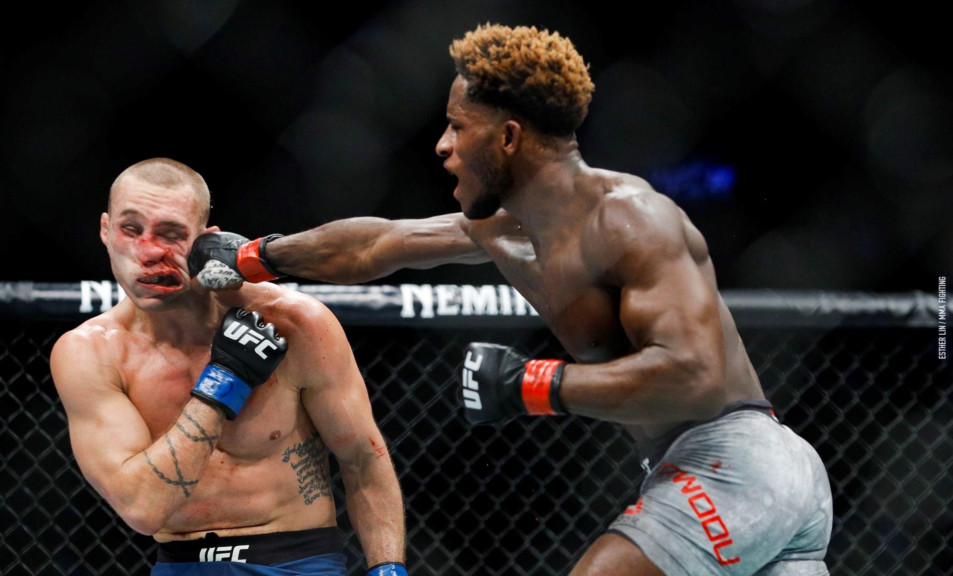 UFC 231 'Holloway vs. Ortega' Results - Hakeem Dawodu Picks Up a Split Decision Victory - Hakeem