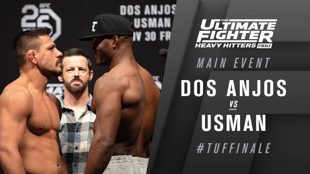 The Ultimate Fighter 28 Finale Results - Kamaru Usman Picks Apart & Grinds Dos Anjos for 5 Rounds -