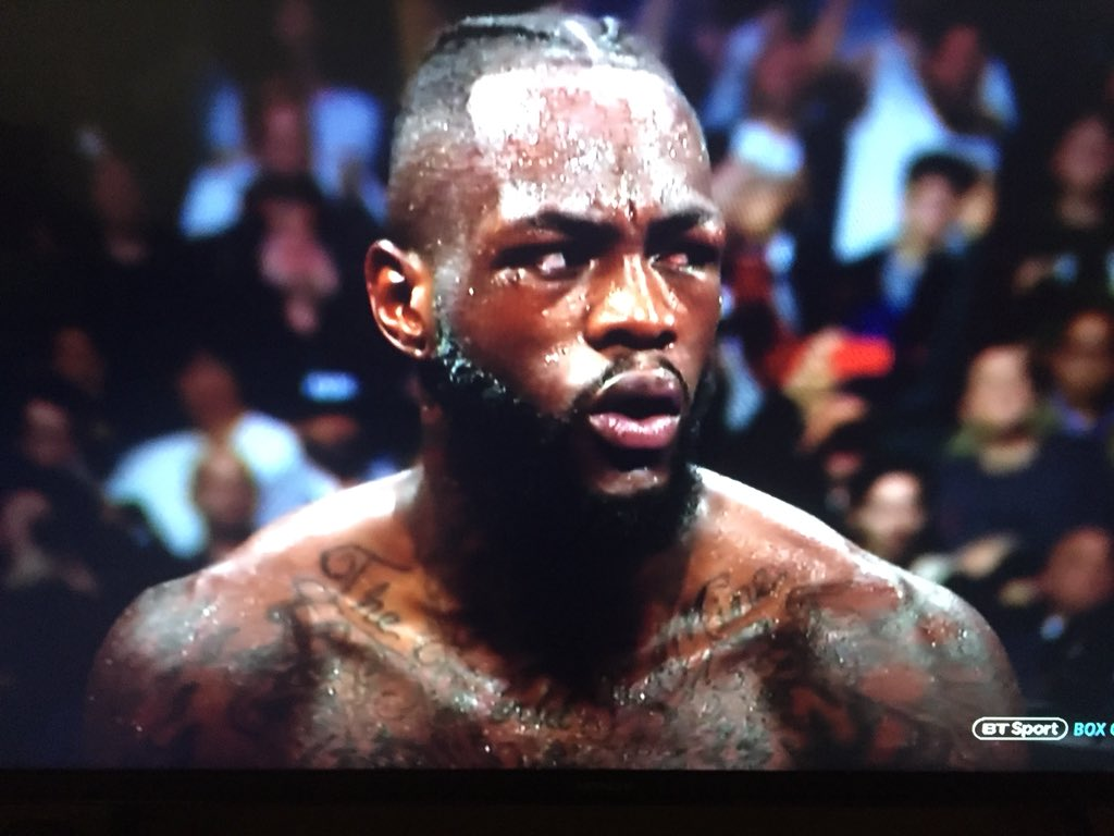 VIDEO: Wilder 'SHOCKED' expression after seeing Fury get up from the insane Knockdown - Fury