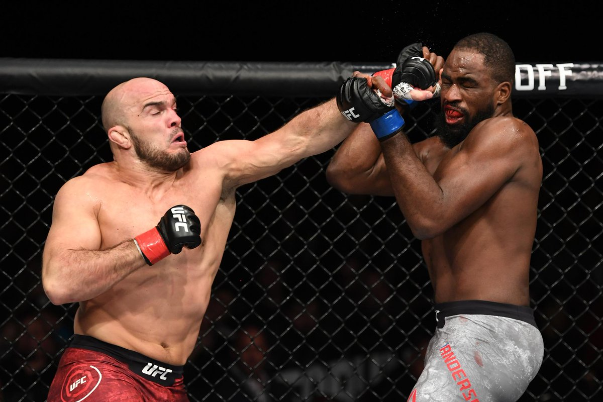 Twitter reacts to Corey Anderson's victory over Ilir Latifi - Anderson