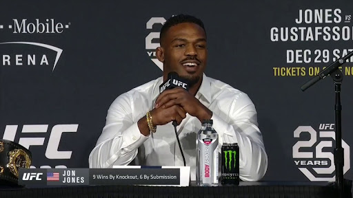 UFC: Jon Jones rips into and bullies journalist who asks him about failed drug test - Jones