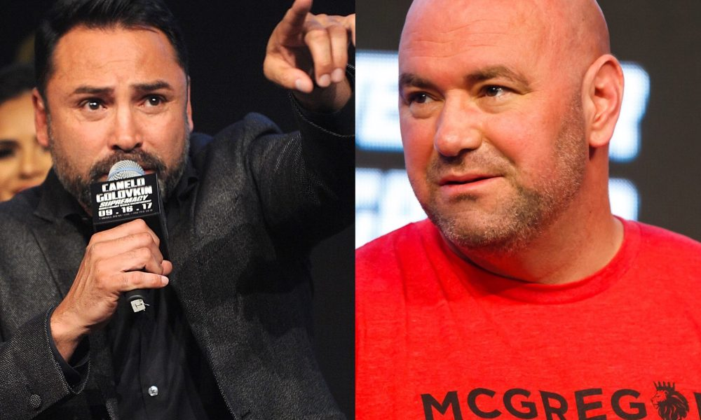 Oscar De La Hoya's reply to Dana White: Let's fight! - Oscar