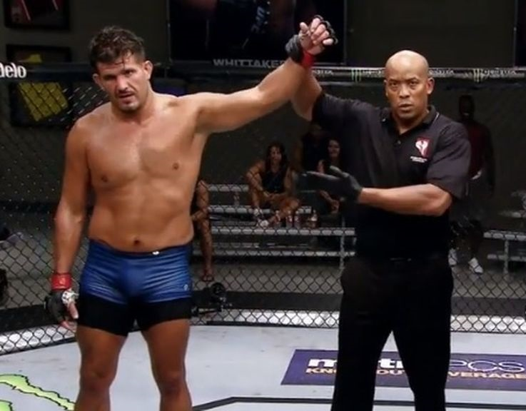 The Ultimate Fighter Finale 28 Results - Juan Espino Becomes Picks Up the Heavyweight TUF Trophy With a Submission Win -