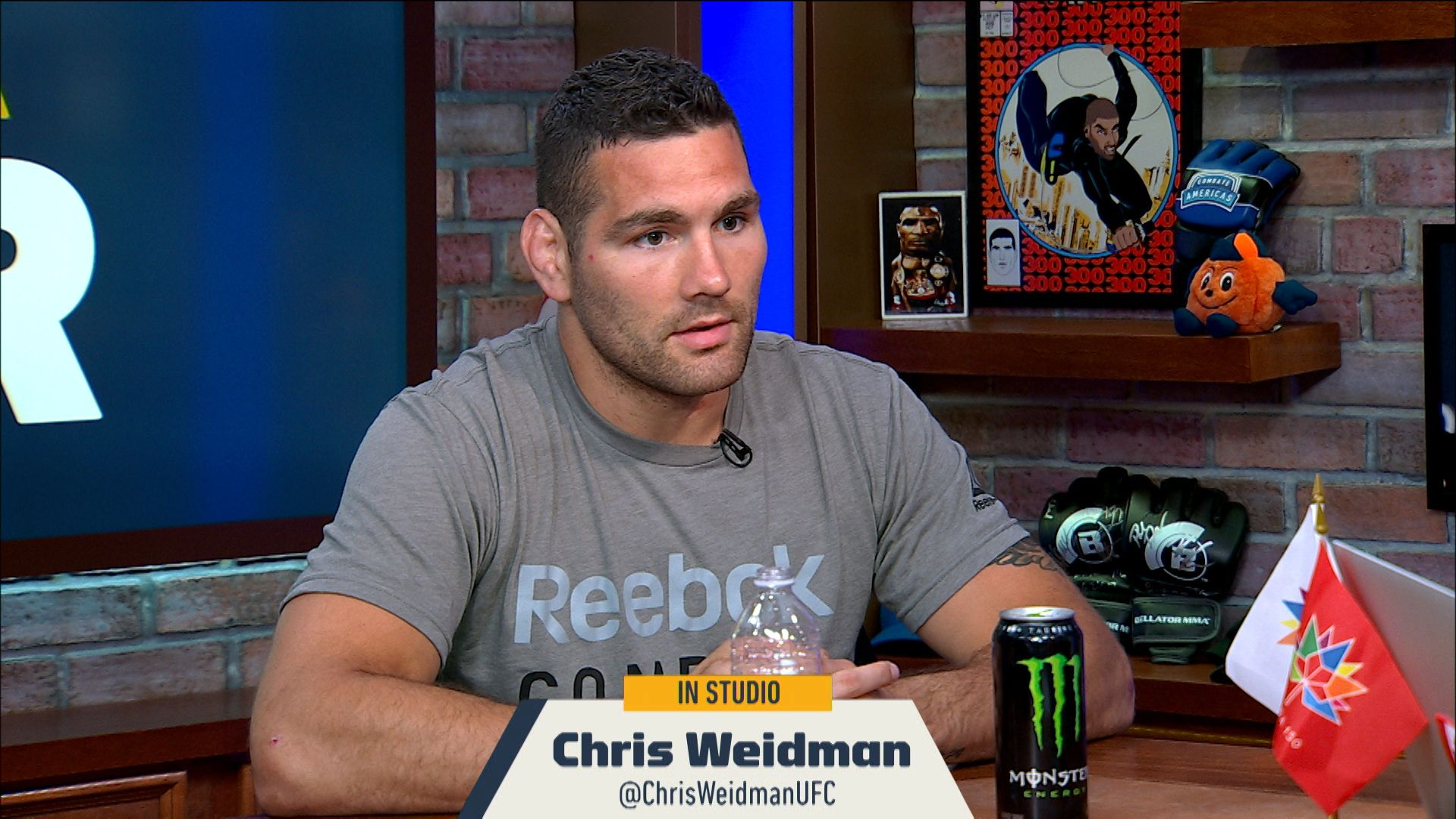 Chris Weidman tears up during interview when he recounts how his daughter learned of his loss to Jacare - Weidman