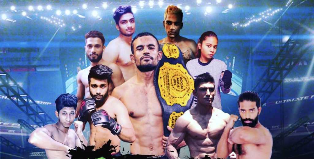 Announcing the main card for the BOOM MMA -