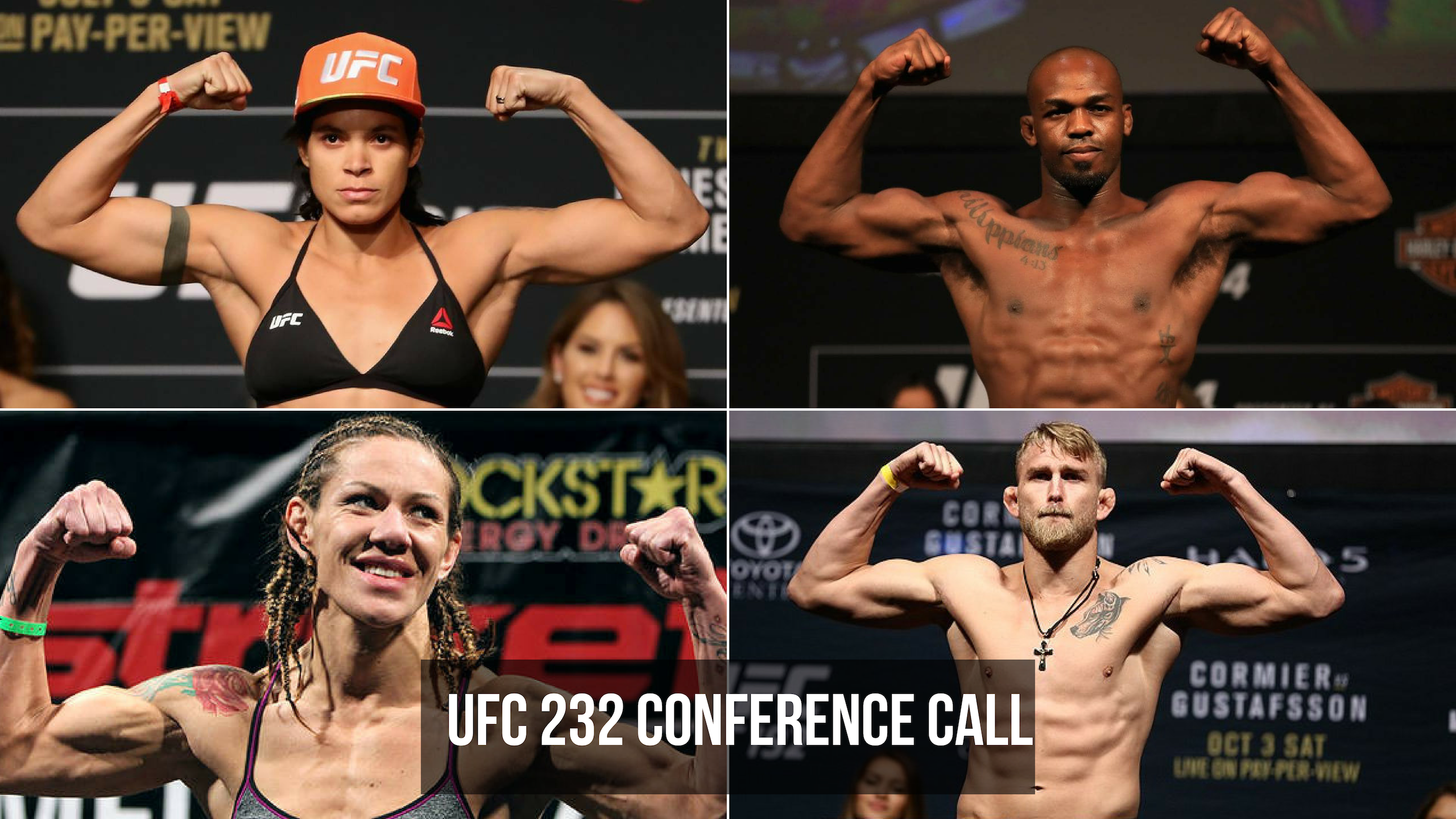 UFC 232 Conference call -