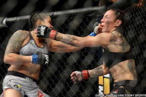 Twitter reacts to Amanda Nunes's impressive first round KO victory over Cris Cyborg - Nunes