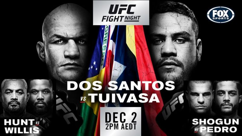 UFC Fight Night 142: Dos Santos vs. Tuivasa - Play by Play Updates & Live Results -
