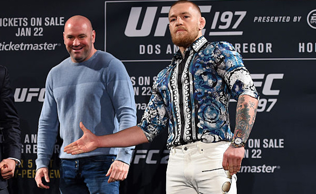Dana White reveals who could be Conor McGregor's next opponent - Dana