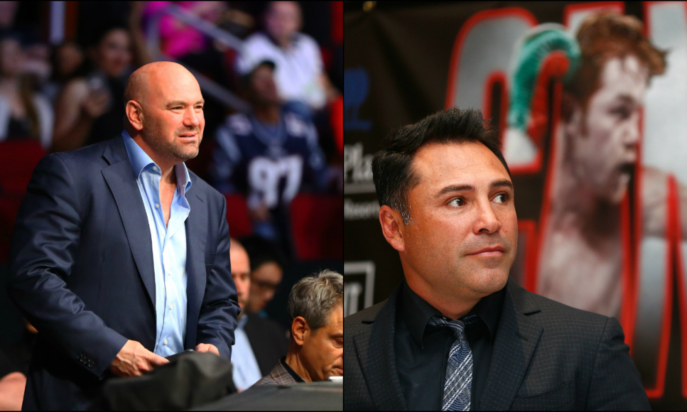 Dana White sets the record straight once and for all with Oscar De La Hoya about 'underpaid' fighters -