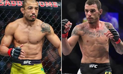 UFC: Jose Aldo vs Renato Moicano official for UFC Fortaleza - Jose Aldo